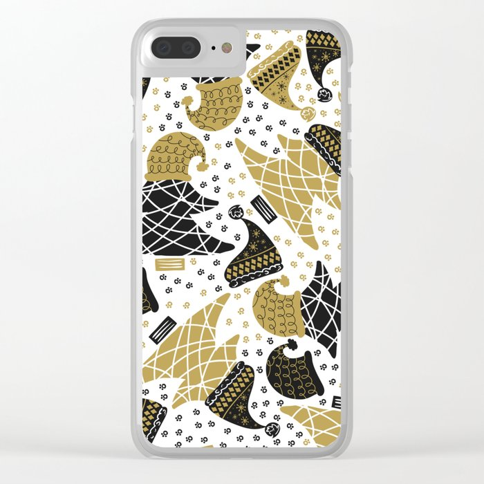 Winter Clear iPhone Case