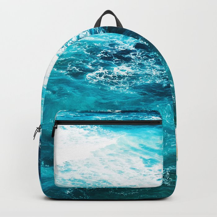 Sea Foam #society6 #decor #buyart Backpack