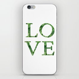 love quote. iPhone Skin