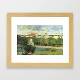 The Market Gardens of Vaugirard - Paul Gauguin (1879) Framed Art Print