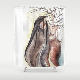 Faunish Shower Curtain