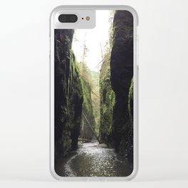 Oneonta Gorge, Oregon Clear iPhone Case