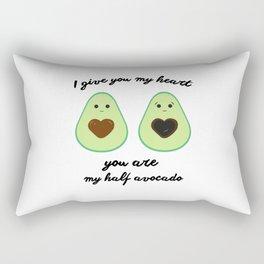 Couple of avocados Rectangular Pillow