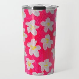 Pink Lacy Travel Mug
