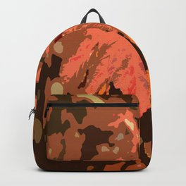 Abstract Fall Leaves Backpack