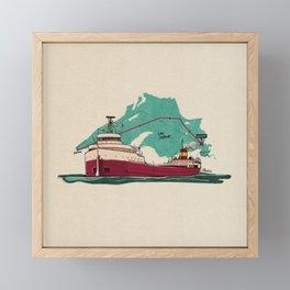 the edmund Framed Mini Art Print