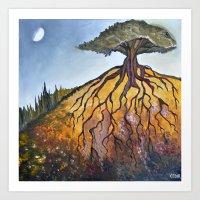 Deep Roots Art Print