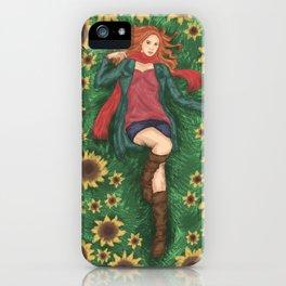 Amy Pond iPhone Case