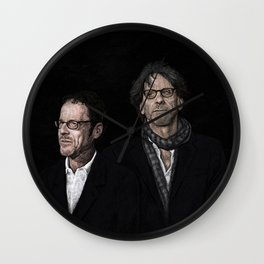 COEN BROTHERS Wall Clock