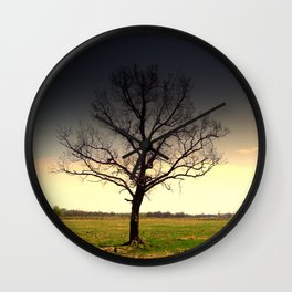 Tree Wall Clock