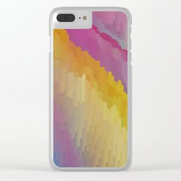 Gem scape minerals Clear iPhone Case