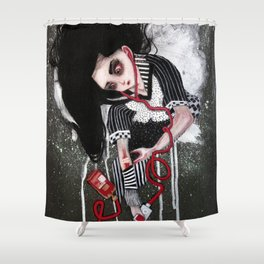 without a heartbeat Shower Curtain