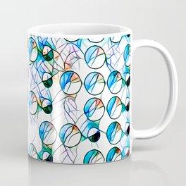 Glass stain mosaic 10 - bubbles, by Brian Vegas Coffee Mug