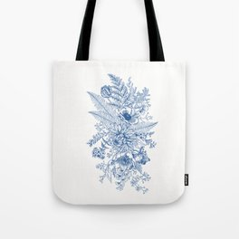 Vintage Blu Tote Bag