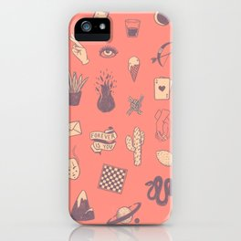 This Is Not A Love Story iPhone Case