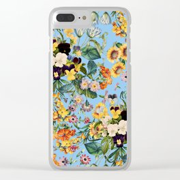 Summer Garden IV Clear iPhone Case