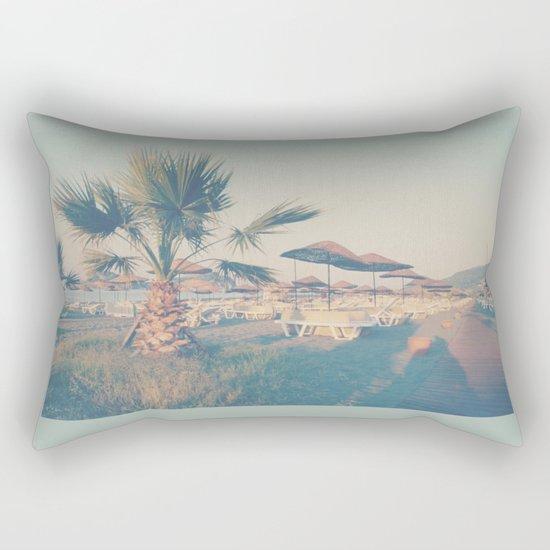 RELAXING - A Day at the Beach Rectangular Pillow