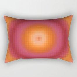 Ripple II Pixelated Rectangular Pillow