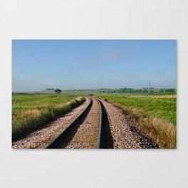 Prairie Tracks Canvas Print