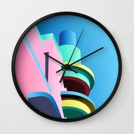 Pastel Paradise #001 Wall Clock