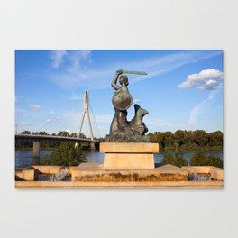 The Mermaid of Warsaw Canvas Print