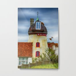 Fort Green Windmill Aldeburgh Metal Print