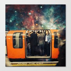 Mind The Galaxy | London Tube Series Canvas Print