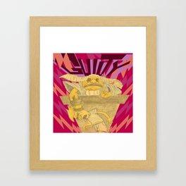 Until Proven Framed Art Print
