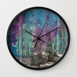 Treads Of Color Wall Clock