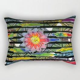 This Connection Rectangular Pillow