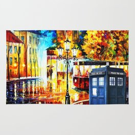 Tardis Waiting Rug