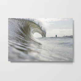 Peaceful Energy Metal Print
