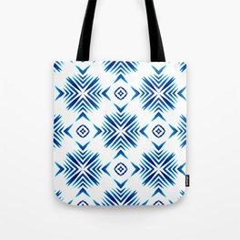 Shibori Blue Watercolour No.15 Tote Bag