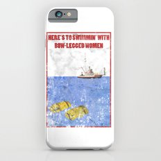 JAWS - Here's to swimmin' with bow-legged women Slim Case iPhone 6s