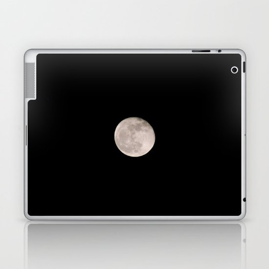 Moon. Laptop & iPad Skin