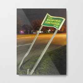 Welcome To Redford Township Metal Print