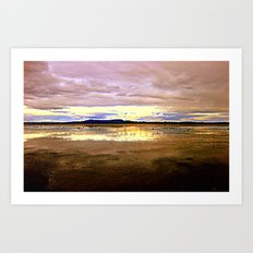 Lake Lonsdale Art Print