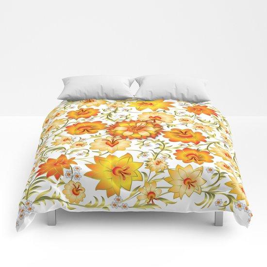 Shabby flowers #13 Comforters