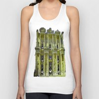 old school Tank Tops featuring Old School by Nicholas Bremner - Autotelic Art