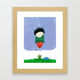 dream selector - the one where i never give up Framed Art Print