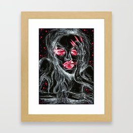 Languor Framed Art Print