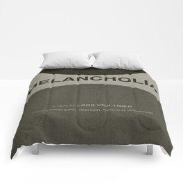Melancholia - MINIMALIST POSTER Comforters
