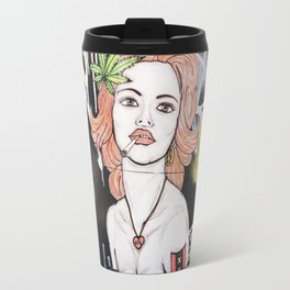 Amsterdam Girl Travel Mug