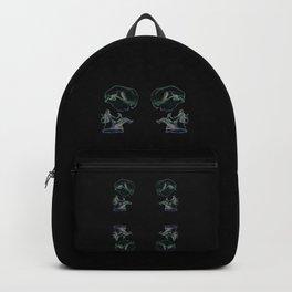 Rainbow Skull Backpack