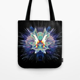 Light Butterfly Explosion Tote Bag