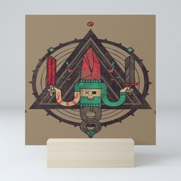 He, with the peculiar voice Mini Art Print