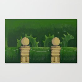 Nessie Topiary in the Garden 2019 Canvas Print
