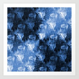 The Sound Barrier in Blue..... Art Print