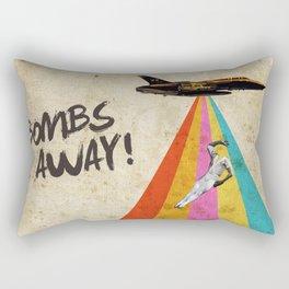 Bombs away! Rectangular Pillow