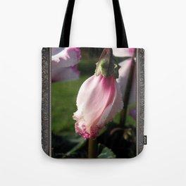 Cyclamen named Metis Victoria Tote Bag
